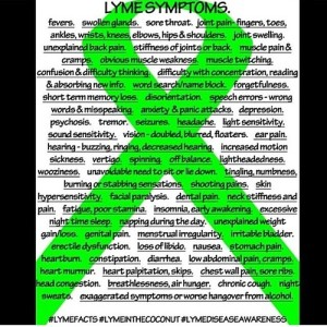 The Many Symptoms of Lyme Disease